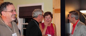 Descendants had a great time mingling, including Minister of Tourism and Culture Robert Henderson.